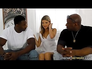 Office girl gina gerson gets dp d by big black cocks