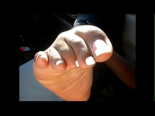 Maya French Pedicure
