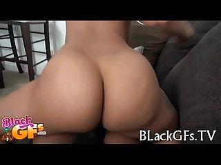Impressive chick rides on cock