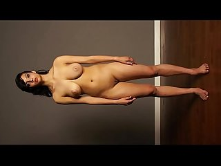 Shanaya indian model babe full nude shaved pussy