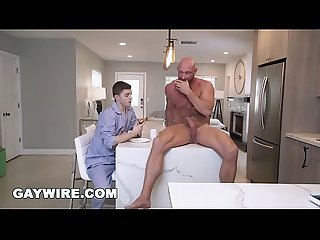 GAYWIRE - Tom Bentley Gets Butt Fucked By His Stepdad, Killian Knox