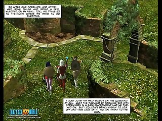 3d comic neverquest chronicles episode 01