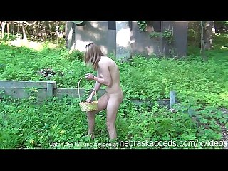 Tiny teen braces naked easter egg hunt