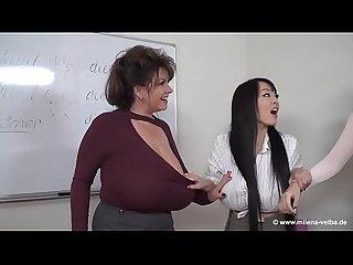 Milena velba anri okita and hitomi tanaka