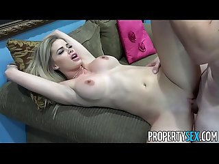 PropertySex - Super hot real estate agent fucks her step-cousin in open house