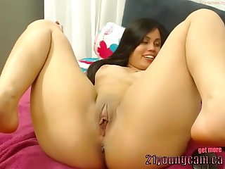 Hot sexy think girl masturbate on cam 21youngcam ca