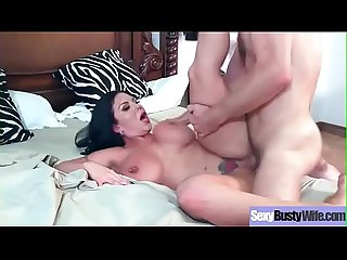 (Sheridan Love) Busty Mommy Enjoy Hard Style Sex On Tape Clip-21