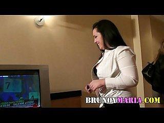 Natalia hace cornudo a Su marido con un amigo de Maria de brunoymaria