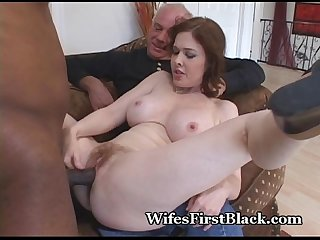 Wife S pussy squeezing black cum out