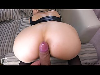 Hot Teen Doggystyle Sex POV - Kriss Kiss