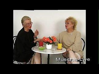Unbelievable, granny does lesbian sex