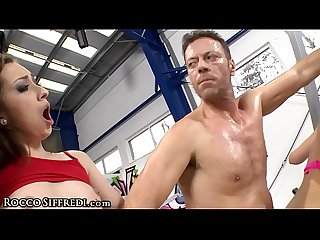 Rocco siffredi nails 2 dick hungry workout sluts