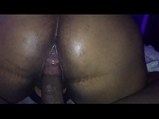 Big booty ex bbw gf ebony rides dick reverse nice and wet