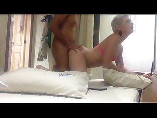 Romagaga dando o cu