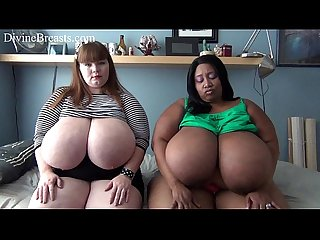 Lexxxi Luxe with BBW Porn Star Cotton Candi