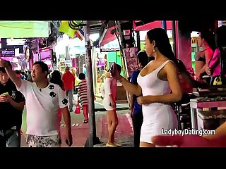 Thailand Sexy ladyboys in de beloofd Land
