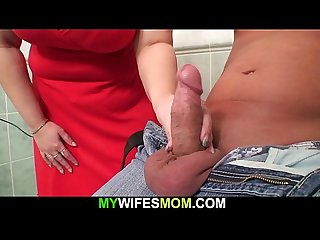 Wife caught fat mom riding her boyfriend s cock in the bathroom
