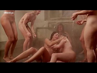 Dyanne thorne lina romay tania busselier nude scene from ilsa the wicked warden