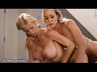 Sweetheart Alexis fawx comma brandi love cherie de ville 3way excl excl excl excl excl