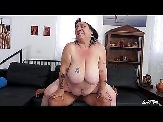 Scambisti maturi italian bbw newbie fucked by younger dude got cum on pussy