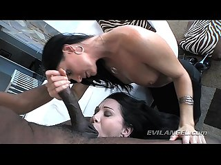 RayVeness & India Summer are on the hunt for some big black boners!