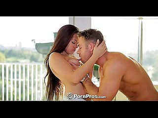 PornPros - Chad meticulously undresses his exotic girl Morgan Lee