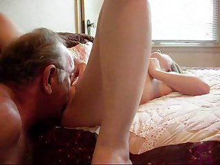 Daddy fucks sons girlfriend liveslutroulette com