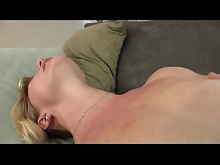 Mature blonde lady Shakira May and young brunette floozie Shae Snow get dirty doing hot 69 on the..
