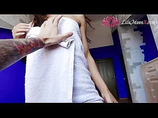 Lilu Moon Masturbation with Sex Toys and Multiple Orgasms many times