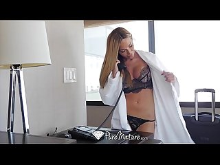 Puremature tan lined milf subil arch fucks the bell boy