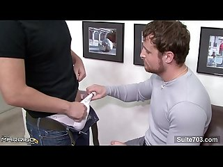 Excited married guy gets fucked by a gay