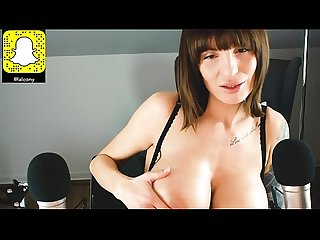 Asmramy solo asmr dirty talking oil big boobs