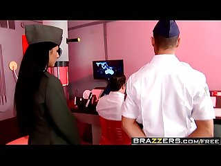Brazzers big tits in uniform the cunt for red october scene starring Brenda black and Bruno