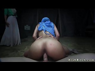 Muslim girl fucks sneaking in the base