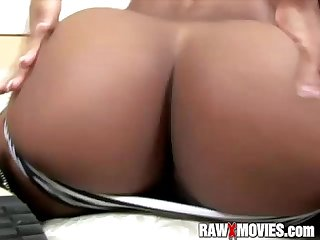 Beautiful Black Teenage Ass Fucked