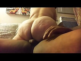 Big phat ass latina rides big cock and cums so fucking hard