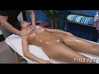 Hot naked massage