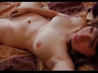 Pretty Bunette Fingers Her Furry Wet Snatch To Orgasm