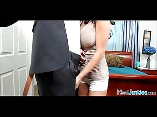 Mom makes son watch her get fucked by big black cock 270
