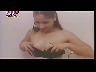 B-grade teen beauty in shower full nude
