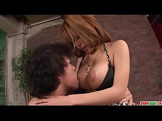 Big boobs Haruka Sanada amazing sex in flaming scenes - More at Japanesemamas com
