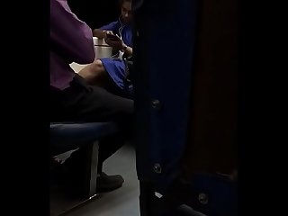 VERY HOT GIRL THIGHS EXPOSED IN THE TRAIN