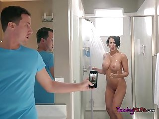 Luscious cougar reagan foxx catches a peeping tom
