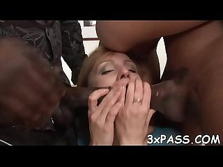 Fine rodeo on black dick