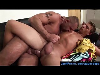 Hot gay guys converting their straight roomates video 07
