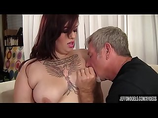 Chubby Phoenixxx BBW Sucks a Thick Prick Before Stuffing It in Her Fleshy Twat