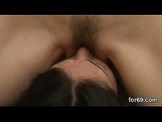 Sensuous lesbians enjoy cunnilingus until cumming