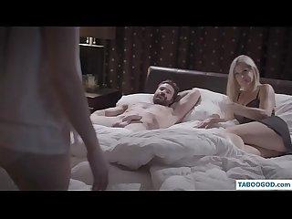 Pervert family threesome