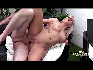 German - Blonde MILF Amateur Fuck with neighbor