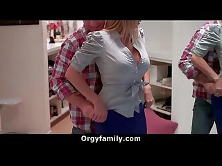 Step Mom is Very Horny For Her Big Dick Son | OrgyFamily.com